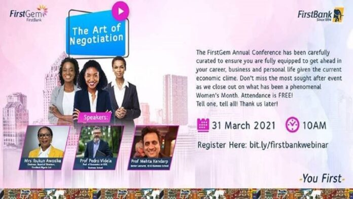 FirstBank to Empower Women in Annual FirstGem Conference 4.0